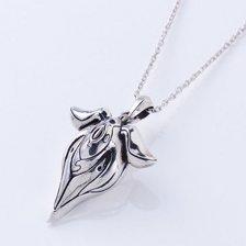 Riko - White Whistle Silver Necklace