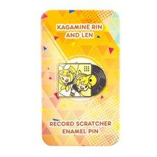Hatsune Miku Record Scratcher Enamel Pin Set