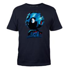 Silhouette of MegaHero Men's Tee