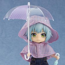 Nendoroid Doll: Outfit Set (Rain Poncho - Stripes)