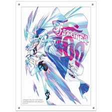 Hatsune Miku GT Project 100th Race Commemorative Art Project Art Omnibus High-Res Acrylic Artwork