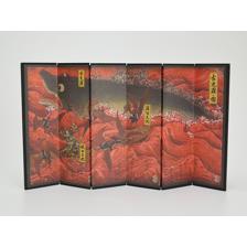 Godzilla Singular Point Gojira Illustration Mini Folding Screen