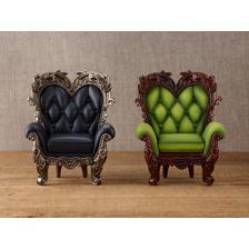 PARDOLL Antique Chair: Matcha