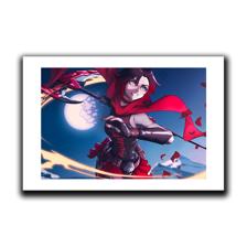 Ruby Scythe Attack Art Print