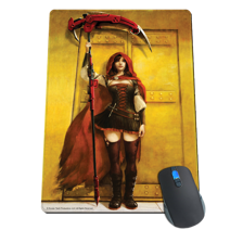 Ruby After William Godward Mousepad