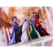 Saber, Rin Tohsaka and Sakura Matou ~15th Celebration Dress Ver.~ Premium Box
